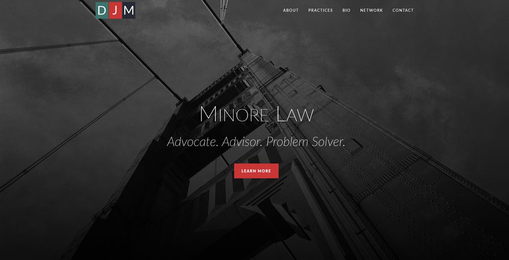 Minore Law Homepage