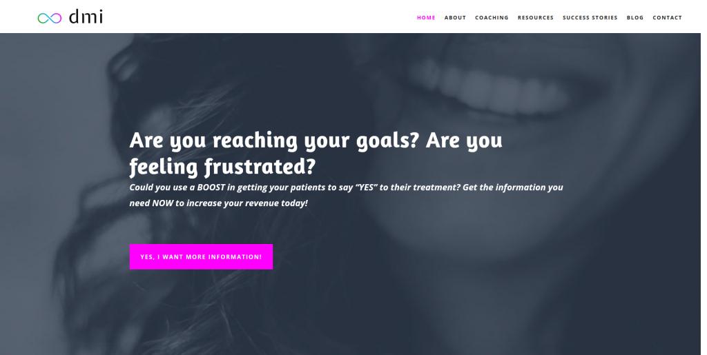 DMI Coaching Homepage